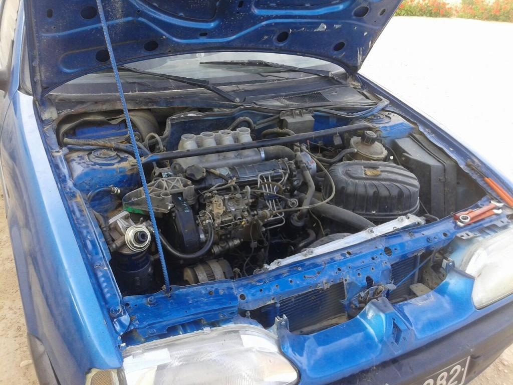 محرك سيارة مستعملة